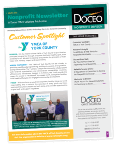 doceo proudly serves the non profit community